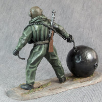 WW2 Toy Soldiers - Reconnaissance Diver during the Second World War 1/32 Scale Hand Painted 54mm Toy Soldier Tin Metal Miniature Figurine