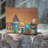 "Womens Wallet ""Sunny City"" 