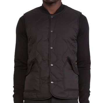 wings + horns Primaloft Combat Vest in Black