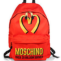 Moschino - Fast-Food Nylon Backpack - Saks Fifth Avenue Mobile