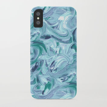 Winter forest iPhone Case by Printerium