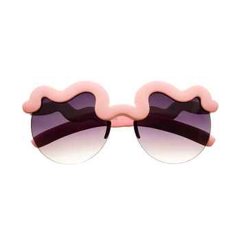 Unique Cool Fashion Party Womens Soft Finish Sunglasses W2200