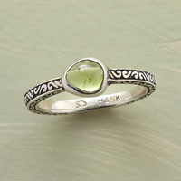 ORGANIC PERIDOT RING         -                  Rings         -                  Jewelry Under $100         -                  Jewelry                       | Robert Redford's Sundance Catalog