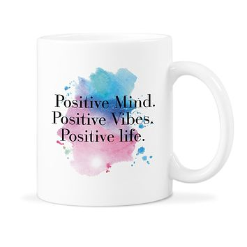 Motivation Mug Positive Mind Coffee Cup