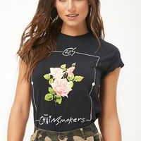 The Chainsmokers Floral Graphic Tee