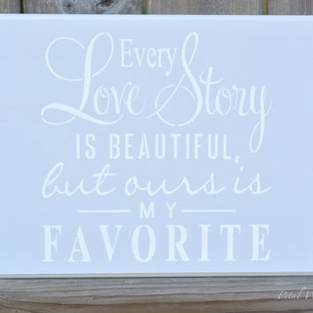 Wedding Wood Love Sign, Wood Wedding Sign, Wood Love Story Wall Hanging, Wood Wall Decor Sign, Home Decor, Wedding Sign Decor,