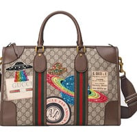 Custom Gucci Courrier Carry on, Swarovski Gucci Carry On,Gucci Supreme Carry On,Custom Carry On,GG Bags, GG Bedazzled Custom Travel bags