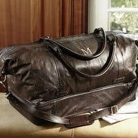 SADDLE LEATHER WEEKENDER BAG