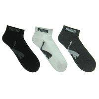 Puma Mens 6PK Terry Cloth Quarter Socks