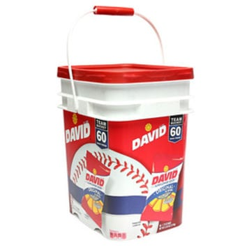 David Sunflower Seeds 1.75-Ounce Bags: 60-Piece Bucket