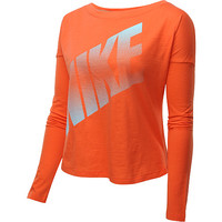 NIKE Women's Prep Long-Sleeve T-Shirt