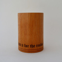 Game of Thrones Inspired Wooden Cup / Mug