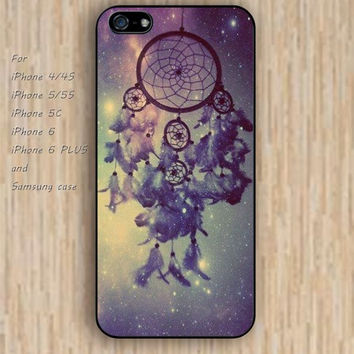 iPhone 6 case dream dream catcher feathers iphone case,ipod case,samsung galaxy case available plastic rubber case waterproof B169