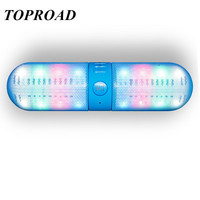 Portable Wireless Bluetooth Speaker Colorful LED Flashing Stereo Altavoz Speakers Subwoofer Handfree Bluetooth Reciever Parlante Alternative Measures