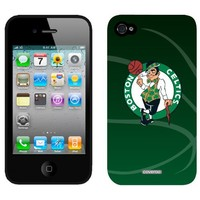 Coveroo Boston Celtics - Ball iPhone 4/4S Slider Case, Black