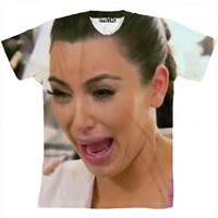 Kim K Crying Shirt