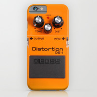 Distortion DS-1 iPhone & iPod Case by Maximilian San