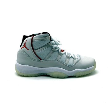 Air Jordan Big Kid's GS 11 Retro Platinum Tint Basketball Shoes
