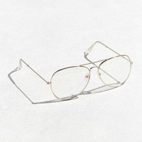 Roial Clear Aviator Readers - Urban Outfitters