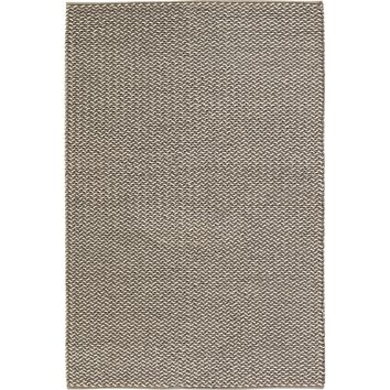 Milano Coll. Hand-Woven Contemporary Braided Area Rug New Zealand Wool (5' X 7'6)