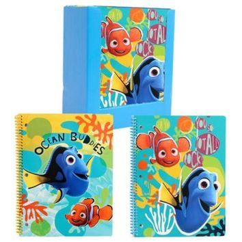 Disney Finding Dory 1-Subject Notebook 50 Sheets - CASE OF 24