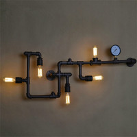Water Pipe Wall Lamp
