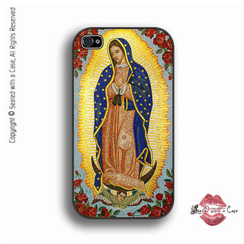 Virgin Guadalupe - iPhone 4 Case, iPhone 4s Case and iPhone 5 case,  Samsung Galaxy II and III