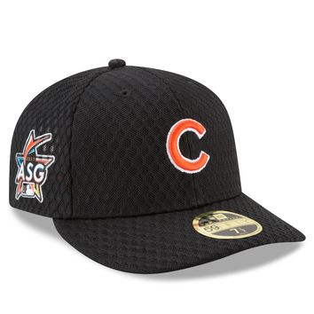 Chicago Cubs Black 2017 All Star Game Home Run Derby Low Profile 59FIFTY Fitted Hat By New Era