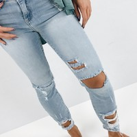 Katy Crop Skinnies - Light