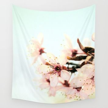 Blossoms Wall Tapestry by ARTbyJWP