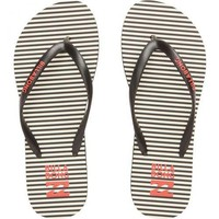 Billabong - Dama Sandals | Black & White Stripe