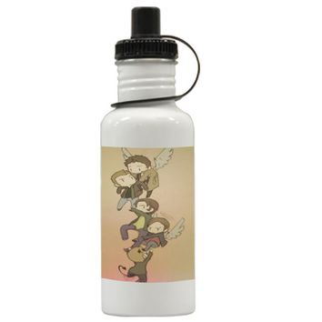 Gift Water Bottles | Supernatural Funny Art Aluminum Water Bottles