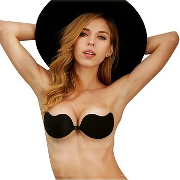 Strapless Bra Self Adhesive Silicone Invisible Bra Women Push Up Bra Backless fly bra bralette encaje soutien gorge bh