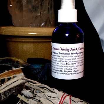 NEW & Improved! 2 fl oz Exclusive Organic Tinctured Smudge Spray