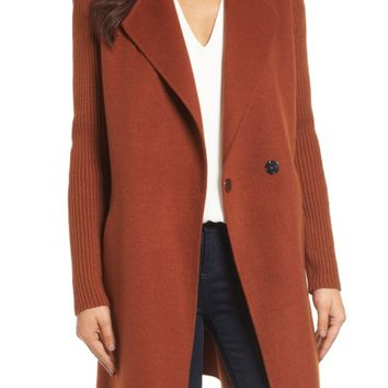 Kenneth Cole New York Double Face Coat (Regular & Petite) | Nordstrom