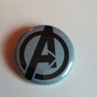 Avengers Button 1inch by frostovision on Etsy