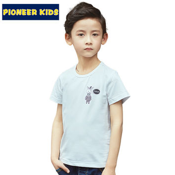Children T-shirt boys t shirtTees Short sleeve shirts Summer Kids Tops Cartoon Baby Boy Clothing Top&Tee
