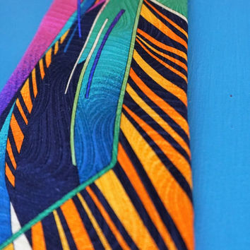 Vintage Vitaliano Pancaldi 100% Silk Italian Necktie-Father's Day Gift Special-FREE Shipping-FREE Gift Wrapping
