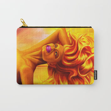 Dominic Goddess of fire Carry-All Pouch by exobiology
