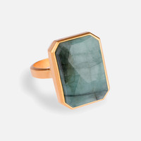 Into the Woods Smart Ring - Emerald | RINGLY
