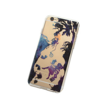 iPhone 6, 6 Plus Cosmic Alice in Wonderland Case