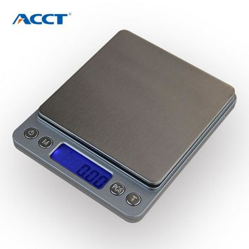 500g x 0.01g Portable Mini Electronic Scale | Digital Scale WithTray