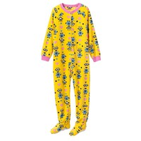 Despicable Me Minions Footed Pajamas - Girls