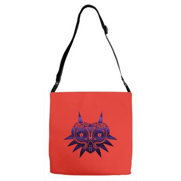 Majoras Mask Adjustable Strap Totes