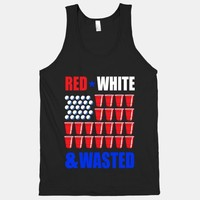 Red, White & Wasted (tank)