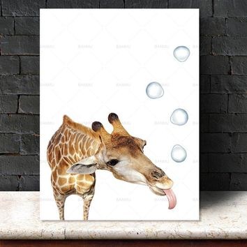Animal canvas painting Wall art Picture wall painting art canvas Picture decor poster art print on canvas Wall Picture no frame
