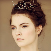 Sterling Silver Crown Tiara .925