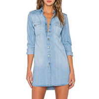 Denim Dress in Light Used
