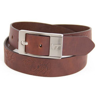 Virginia Tech Hokies NCAA Brandish Leather Belt Size 38