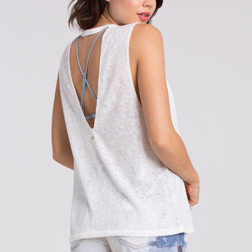 Billabong - Mid Summer Dream Muscle Tank | Cool Whip